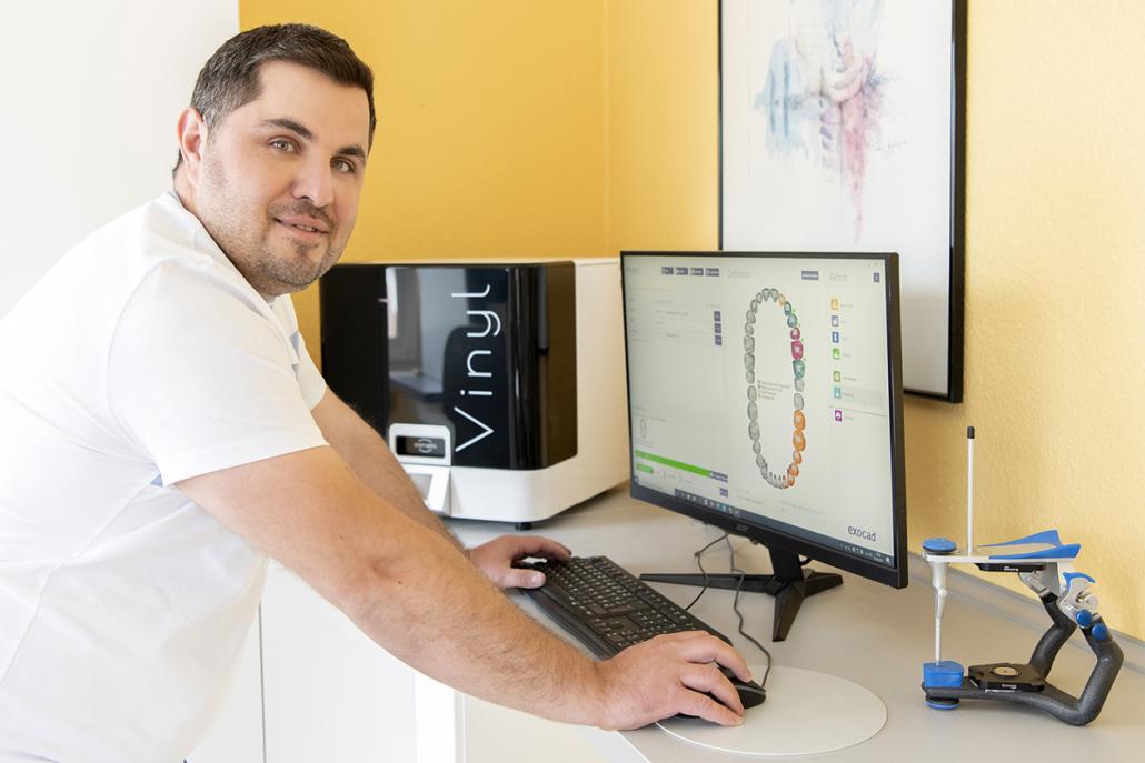 Digitale Verfahren der CAD/CAM-Technik